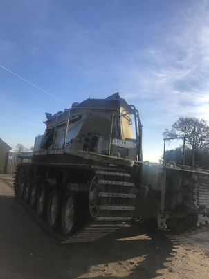 Arrival of the Centurion BARV FV 4018