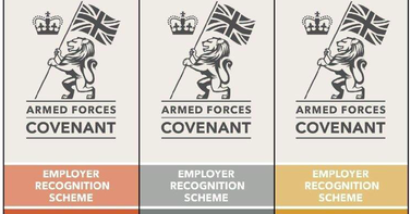 Ministry of Defence Employer Recognition Scheme Silver Award