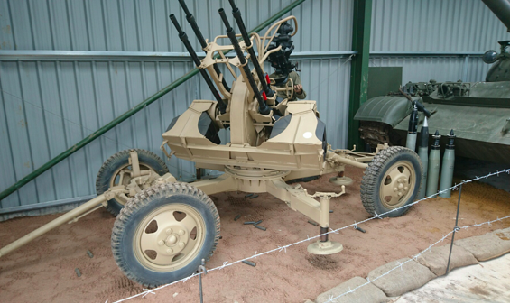ZPU-4 in the Armourgeddon Museum