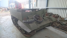 New T16 Arrives at Armourgeddon Military Museum