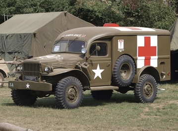 New Arrival: A Dodge WC54 lands at Armourgeddon