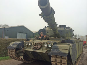Ever fancied driving a tank ?!