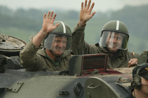 Fathers Day Tank Driving Gift Voucher